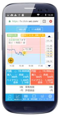 GMOクリック証券「外為オプション」Android対応バイナリーオプション・スマホアプリ徹底特集