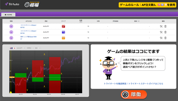 トライオートFX・デモゲーム3
