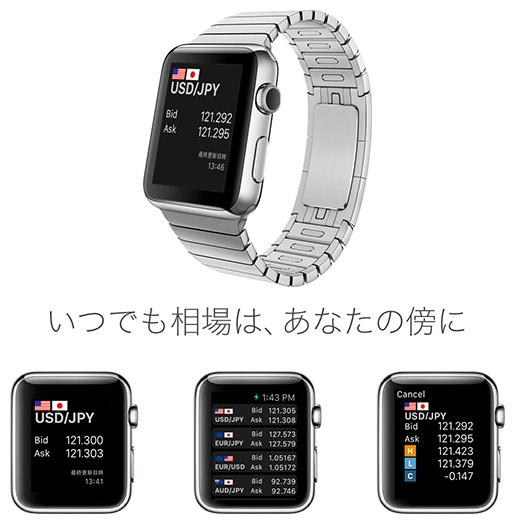アップルウォッチFXアプリ