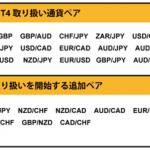 FXTF MT4でトルコリラ/円など10通貨ペアの新規取り扱いが発表!