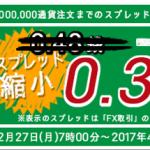 SBI FXトレードが米ドル/円 基準スプレッド20%縮小などキャンペーン実施!積立FXでの全通貨スプレッド縮小も!