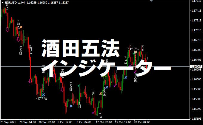 酒田五法のMT4インジケーター