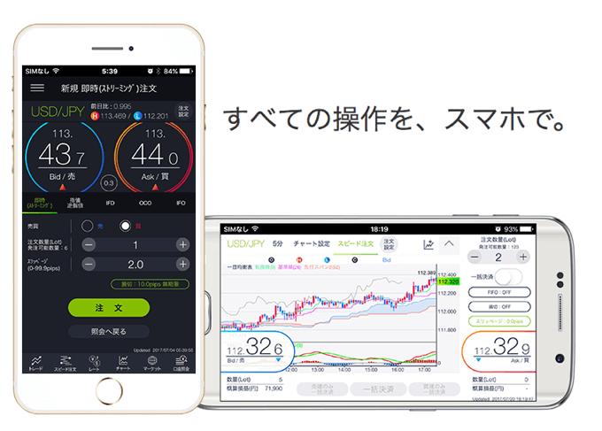 DMMFX スマホアプリ 新バージョン