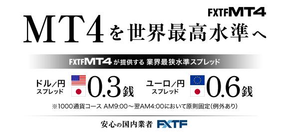 FXTF MT4のキャンペーン特集