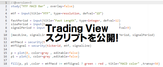 Trading View スクリプト