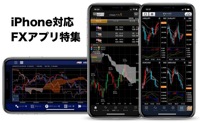 iPhone・スマホでFX特集!!