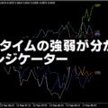 特定の時間における通貨の強弱が分かるインジケーター