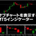 サブチャートを表示するMT5インジケーター