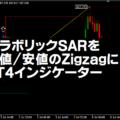 パラボリックSARを高値安値のZigzagにしたMT4インジケーター